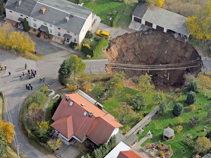 Germany Landslide